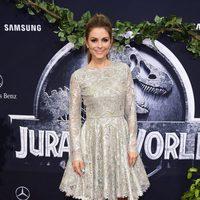 Maria Menounos at the 'Jurassic World' premiere in California