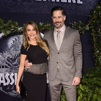 Sofia Vergara and Joe Manganiello at the 'Jurassic World' premiere in Hollywood