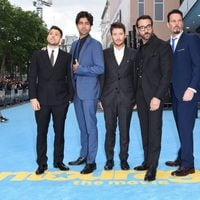 'Entourage' cast during European Premiere in London