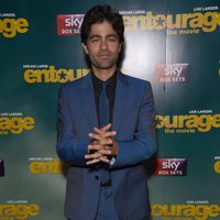 Adrian Grenier at the 'Entourage' premiere in London