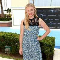 Chloe Grace Moretz presents 'The Fifth Wave' at the Summer of Sony 2015