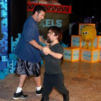 Adam Sandler and Peter Dinklage dance in Cancun