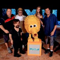 'Pixels' team at the Summer of Sony 2015
