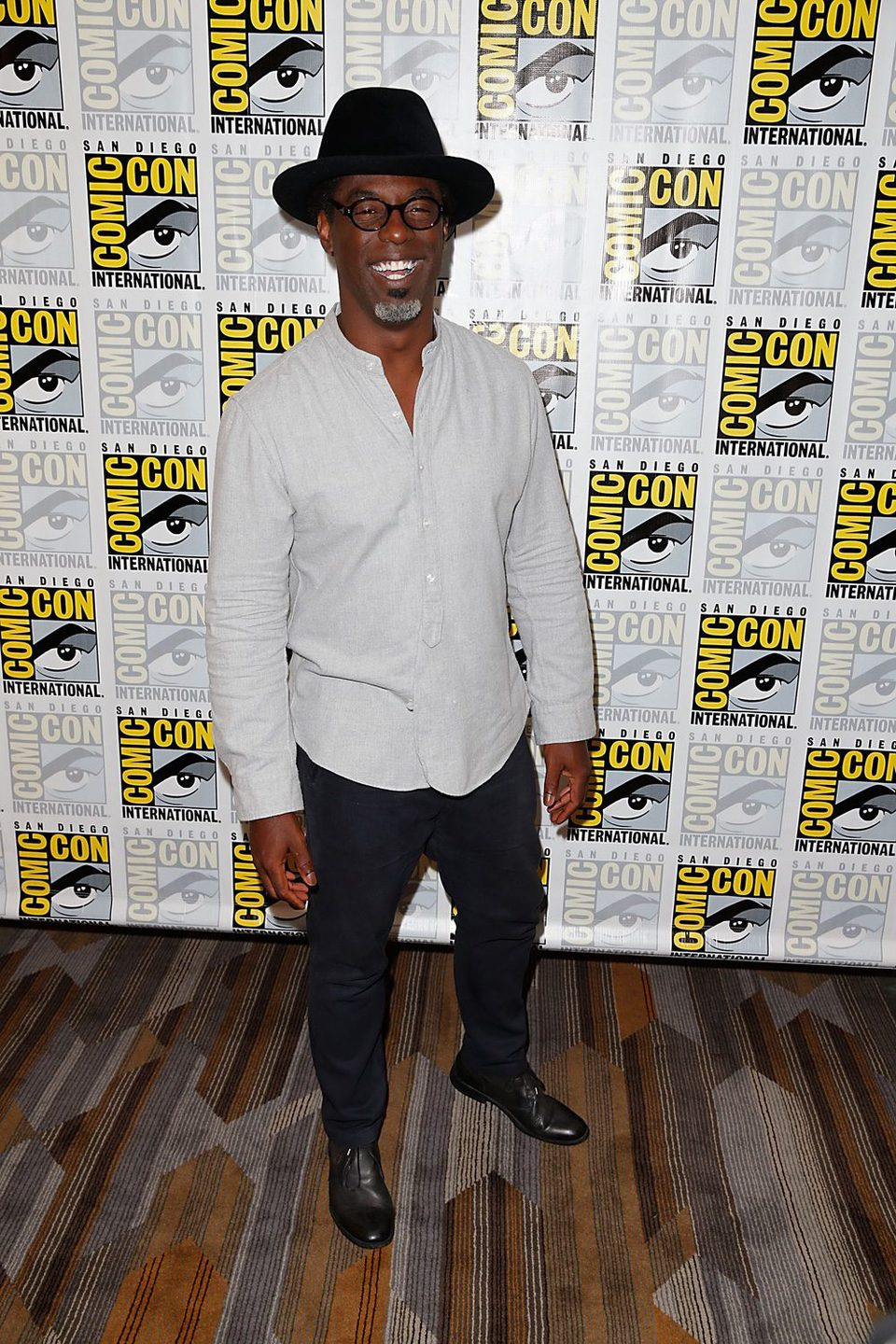 Isaiah Washington at the Comic-Con 2015