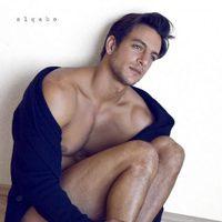 Joaquín Ferreira naked on the floor