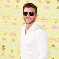 Actor Scott Eastwood poses at the Teen Choice Awards 2015 at the USC Galen Center on August 16, 2015 in Los Angeles, California