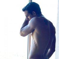 Joaquín Ferreira naked in a photo shoot