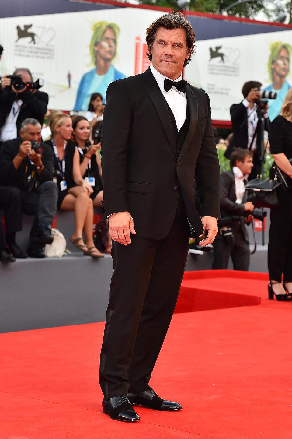 Josh Brolin at the 72nd Venice Film Festival