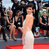 Paz Vega at the red carpet of the 72nd Venice Film Festival