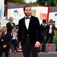 Jake Gyllenhaal at the 'Everest' premiere in the 72nd Venice Film Festival