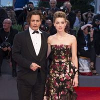 Johnny Depp and Amber Heard at the 72nd Venice Film Festival