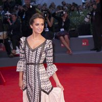 Alicia Vikander at the 72nd Venice Film Festival