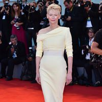 Tilda Swinton at the 72nd Venice Film Festival