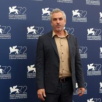 Alfonso Cuarón at the 72nd Venice Film Festival