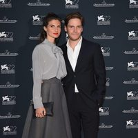 Daniel Brühl and Felicitas Rombold at the 72nd Venice Film Festival