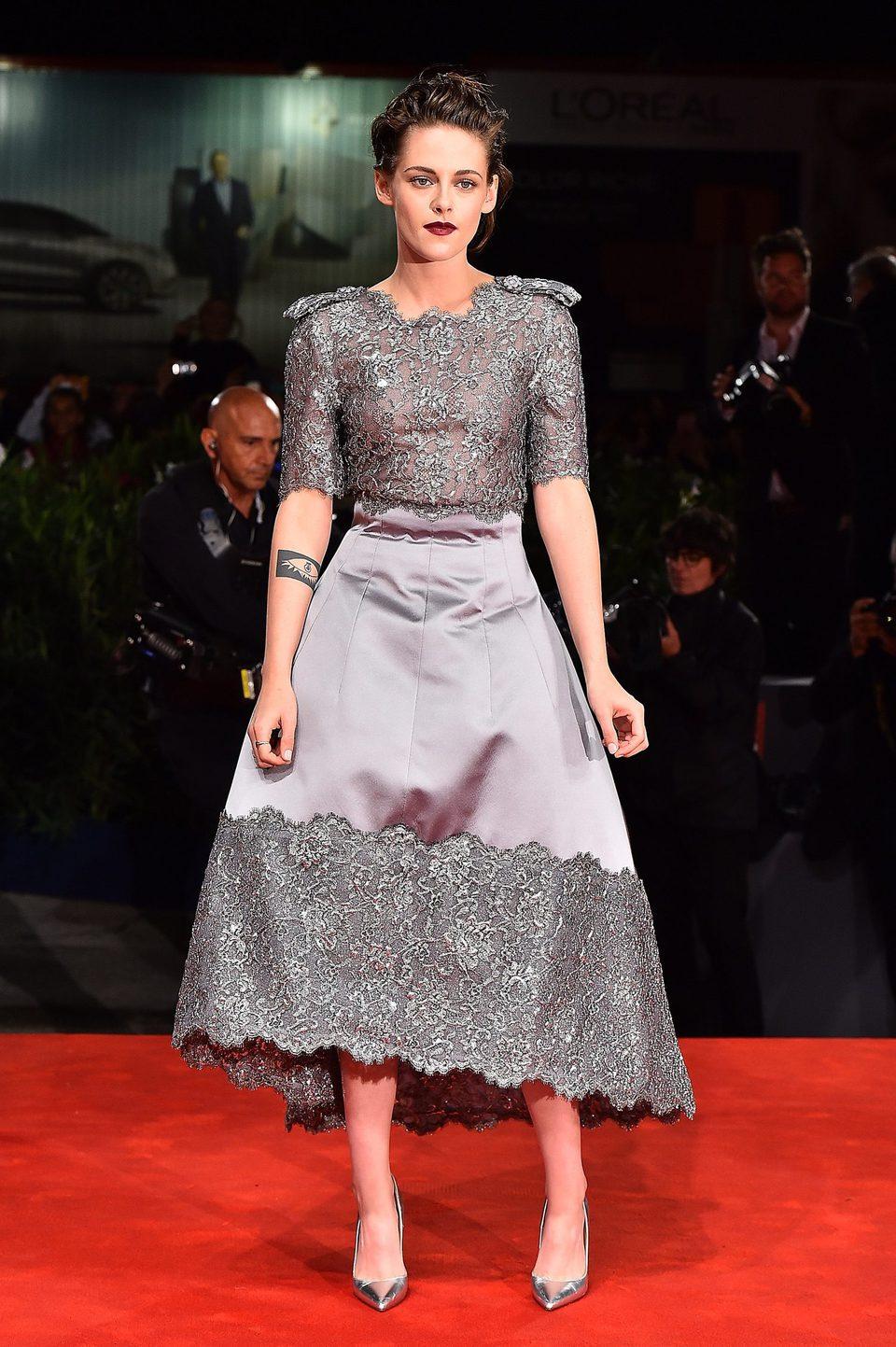 Kristen Stewart at the 72nd Venice Film Festival