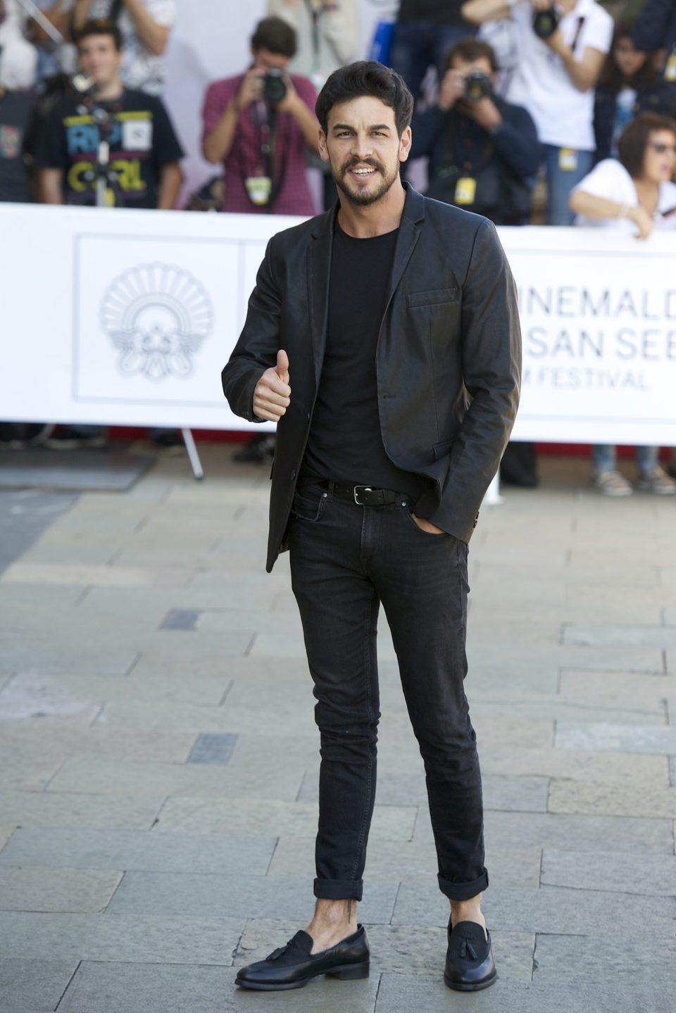 Mario Casas at the San Sebastian Film Festival 2015