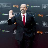 Javier Cámara poses at the San Sebastian Film Festival 2015