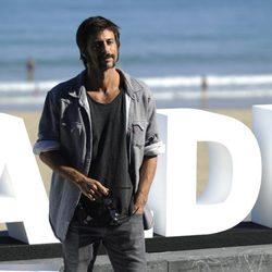 Hugo Silva at the San Sebastian Film Festival 2015