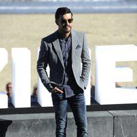Mario Casas poses at the San Sebastian Film Festival 2015