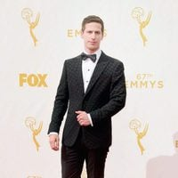 Andy Samberg at the Red Carpet at the Emmys 2015