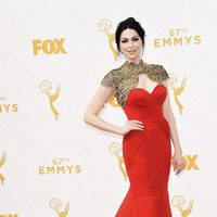 Laura Prepon at the red carpet at the Emmys 2015