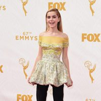 Kiernan Shipka at the red carpet at the Emmys 2015