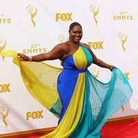 Danielle Brooks at the red carpet at the 2015 Emmys