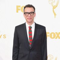 Fred Armisen at the red carpet of the 2015 Emmys