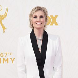 Jane Lynch at the 2015 Emmy awards red carpet
