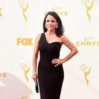 Julia Louis-Dreyfus at the 2015 Emmys red carpet