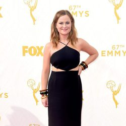 Amy Poehler at the 2015 Emmy Awards red carpet