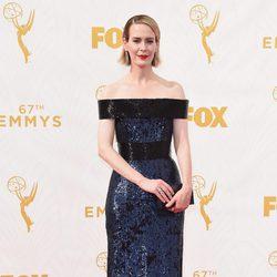 Sarah Paulson at the Emmy Awards red carpet