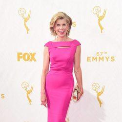 Christine Baranski before the 2015 Emmy Awards gala