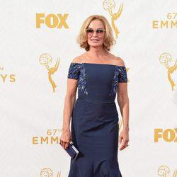 Jessica Lange at the 2015 Emmy awards red carpet