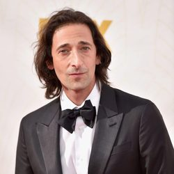 Adrien Brody at the 2015 Emmy Awards red carpet