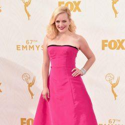Elisabeth Moss at the Emmy awards 2015