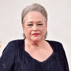 Kathy Bates at the 2015 Emmy Awards red carpet