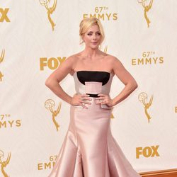 Jane Krakowski at the 2015 Emmy Awards red carpet
