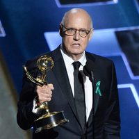 Jeffrey Tambor receiving the 2015 Emmy Award