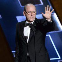 Richard Jenkins receiving the 2015 Emmy Award