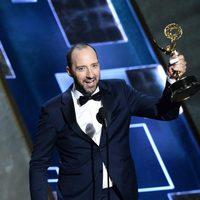 Tony Hale receiving the 2015 Emmy Award
