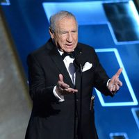 Mel Brooks presenting the outstanding comedy series award at the 2015 Emmys