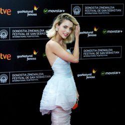 Leticia Dolera attends the red carpet for the 63rd San Sebastian Film Festival Closing Ceremony