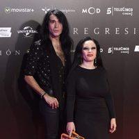 Mario Vaquerizo and Alaska at 'Regression' Premiere in Madrid