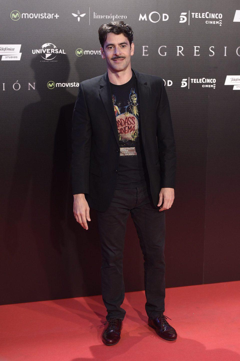 Eduardo Noriega at 'Regression' Premiere in Madrid