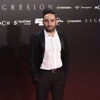 J.A. Bayona at 'Regression' Premiere in Madrid