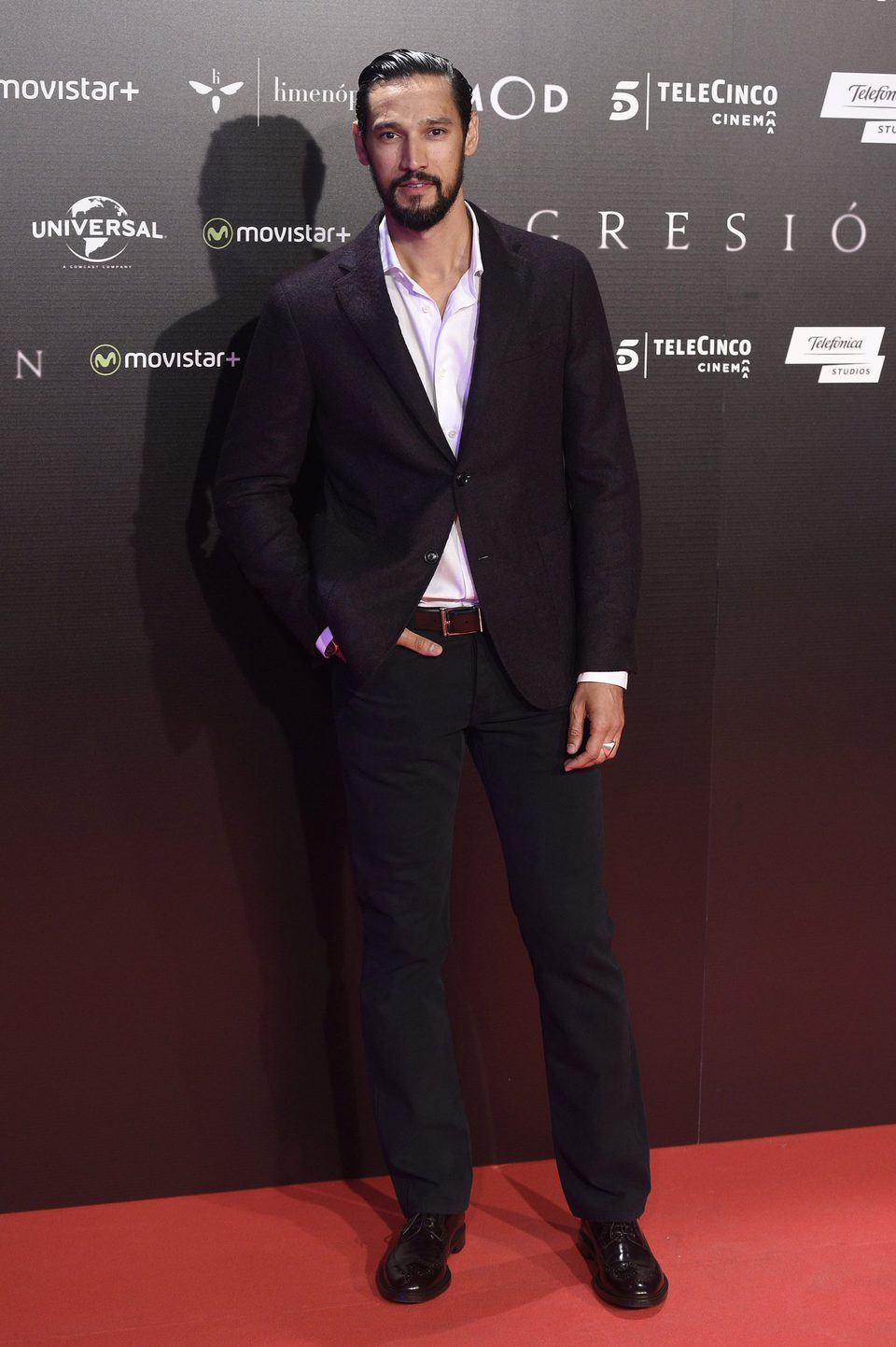 Stany Coppet at 'Regression' Premiere in Madrid