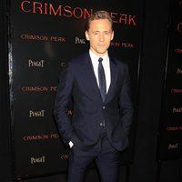 Tom Hiddleston at the NY premiere of 'Crimson Peak'