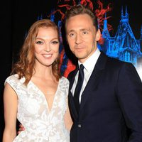 Tom Hiddleston and Emily Coutts at the NY premiere of 'Crimson Peak'